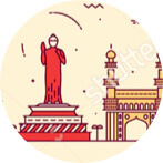 Kolkata location icon